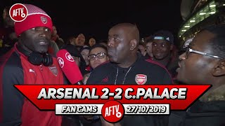 Arsenal 2-2 Crystal Palace | Fans Get In Heated Debate Over Xhaka Booing! (Tade)