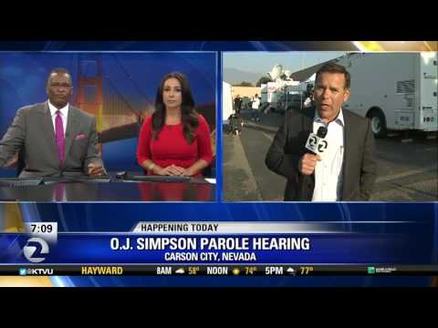 "Media stakeout of ""Camp O.J."" before Nevada parole hearing"