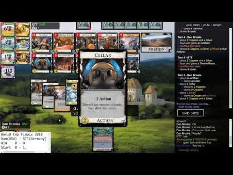 Dominion World Cup 2018 (Finals) - Dan Brooks vs. RTT