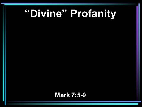 Divine Profanity