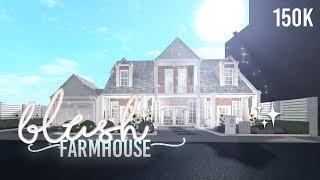BLUSH FARMHOUSE TOUR!! || ROBLOX BLOXBURG