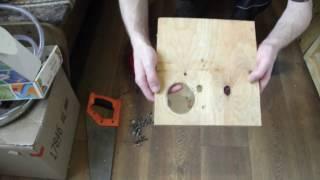 Как сделать гнездо для попугаев. Как сделать гнездо своими руками.