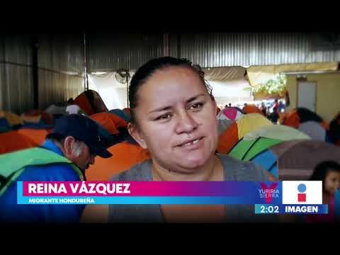 Abre sus puertas en Tijuana una escuela móvil para niños migrantes   Noticias con Yuriria Sierra