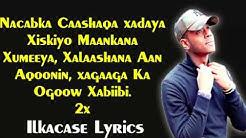 Idiris Akram Hees Cusub Jawaabtii   Ma Xiiqaa  Haniyeta Lyrics 2018