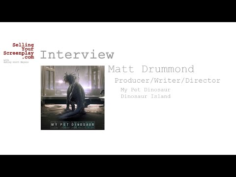 SYS 174: Writer/Director Matt Drummond Talks About His CGI Heavy Feature Film, My Pet Dinosaur