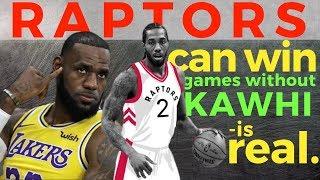 Raptors pinartidahan si Lebron at Lakers | Tinambakan kahit walang Kawhi