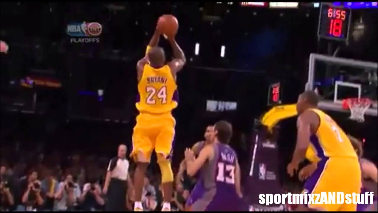 Kobe Bryant Wallpaper Hd Lal Kobe Bryant Shooting Form In Slow Motion Hd Youtube