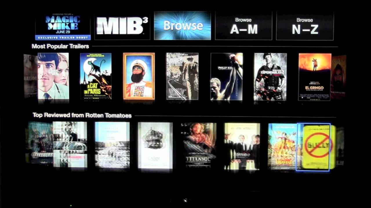 Apple tv how to watch movies