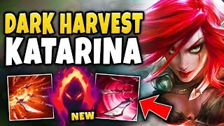 WTF!? NEW DARK HARVEST KATARINA ONE-SHOTS ENTIRE TEAMS?! NERF THIS RIOT! - League of Legends