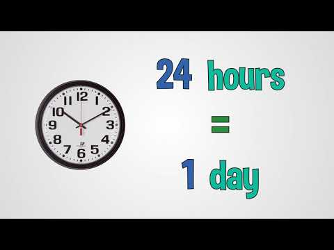Clock and Time Facts Song (seconds, minutes, hours, days, weeks, months) - by Mark D. Pencil