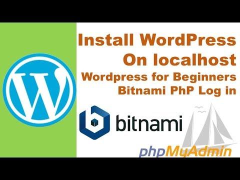 How to install bitnami wamp | Bitnami PhP Log in | Wordpress Installation | create Wordpress Themes