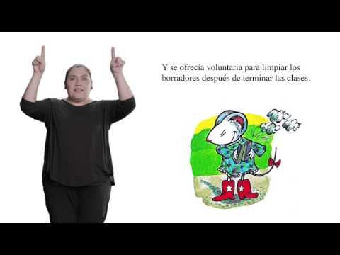 Cuento en Lengua de Señas Mexicana - Lily y su bolso de plástico morado
