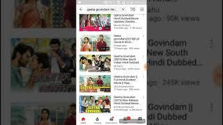 Geetha Govindam | Hindi Dubbed Love Story Download /Watch | Vijay and Rashmika| Link in Description
