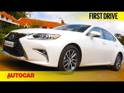 Lexus ES300h | First Drive | Autocar India