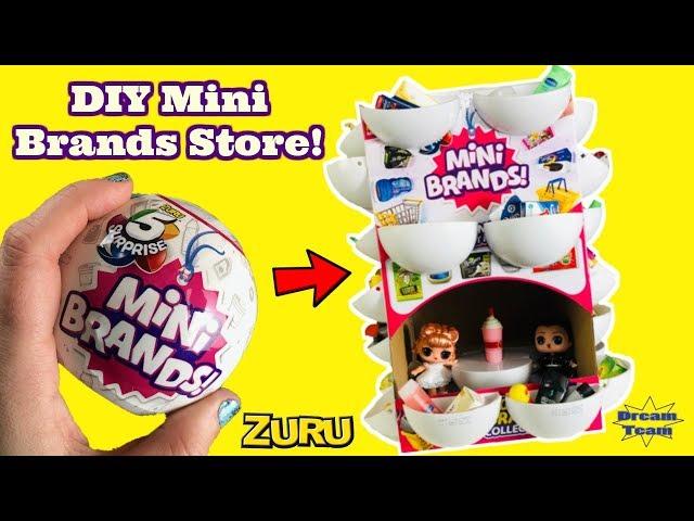 Diy Mini Brands Store Zuru 5 Surprise Mini Brands Dream Team