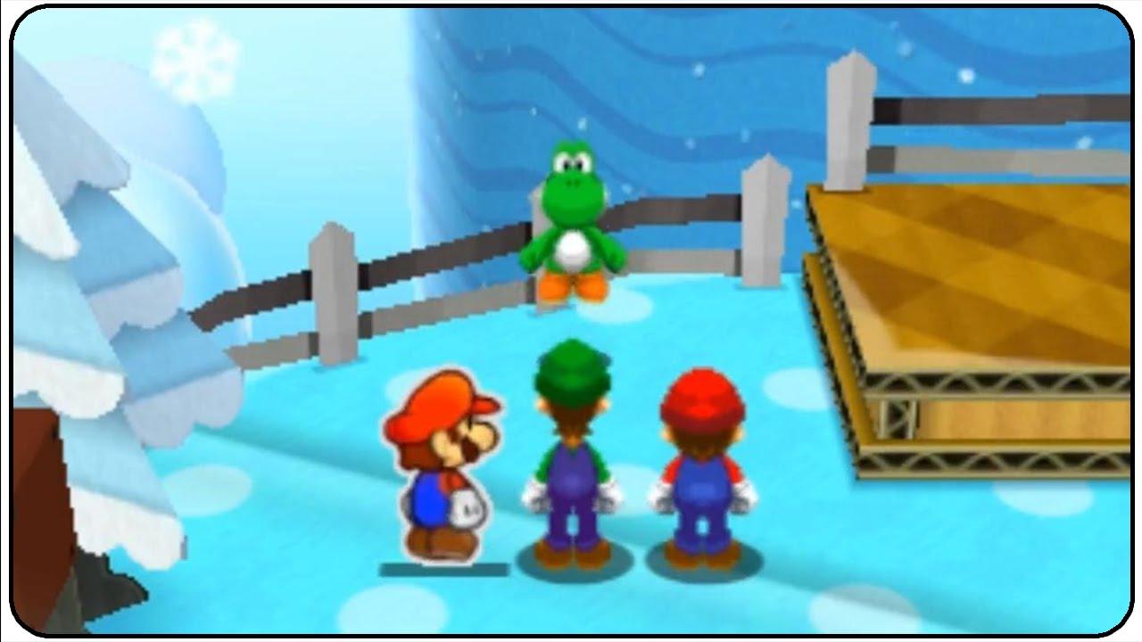 Mario Luigi Paper Jam Walkthrough Part 42 2nd Yoshi Race Youtube