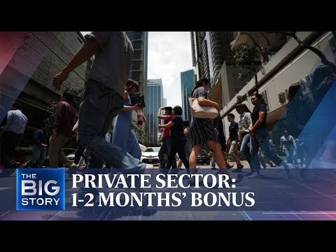 Private-sector employees may get 1-2 months' bonus | THE BIG STORY | The Straits Times