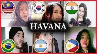 Who sang it better: Havana (Malaysia, Philippines, Brazil, South Korea, Argentina, India)