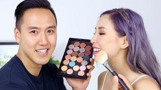 My Boyfriend Does My Makeup- The Results Will Shock You!!
