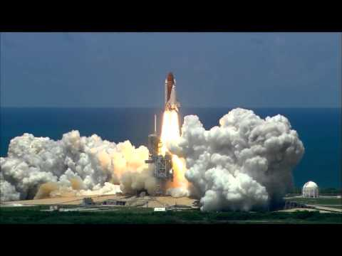 Launch of Space Shuttle Discovery on the 4th of July 2006 underlaid with epic music (STS- 121)