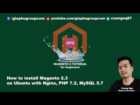 How to install Magento 2.3 on Ubuntu with Nginx, PHP 7.2, MySQL 5.7