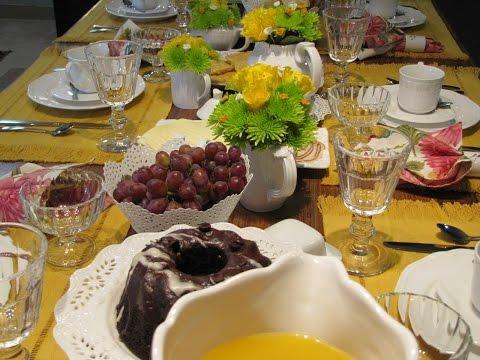 Mesa Cafe da Manhã