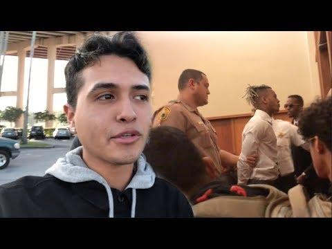 I WITNESSED XXXTENTACION GO STRAIGHT TO JAIL