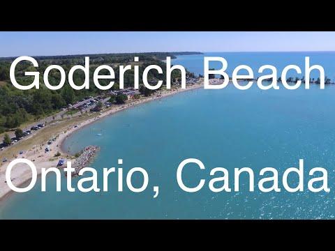 Goderich Beach , Ontario, Canada