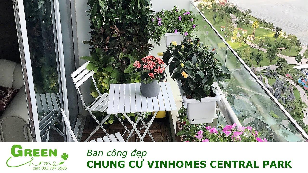 Ban công đẹp – Chung cư Vinhome Central Park