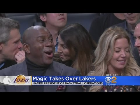 Magic Takes Over Lakers, Jim Buss And Mitch Kupchak Are Out