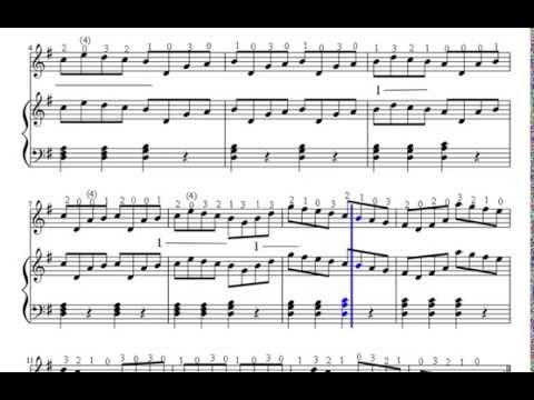 Etude Suzuki Violin Book  Notes