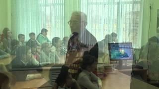 Открытый урок в Константиновской школе 70 лет Победы HD