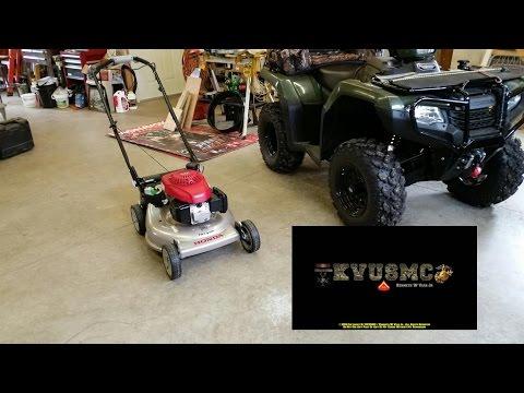 Honda HRR216VKA Self Propelled 21 Inch Lawn Mower Review By KVUSMC