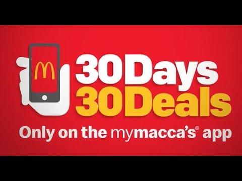 Mcdonald S 30 Days 30 Deals 1 Big Mac Youtube