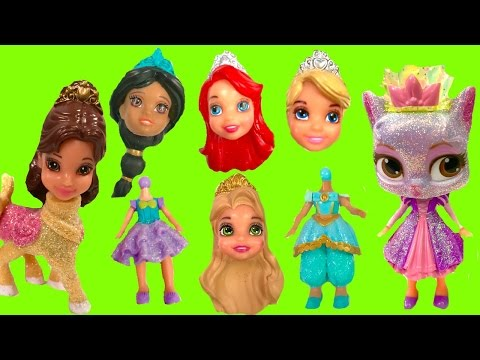 Disney Princesses Have Wrong Heads and Swap with Palace Pets | Fizzy Toy Show