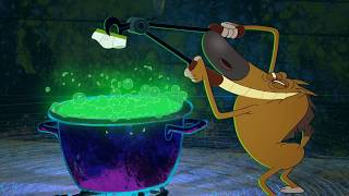 Zig & Sharko 🍵 STRANGE POTION 🍵 MEALS AND YUMMY 🥤 Cartoons for Children