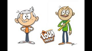 The Loud House Characters as Baldi's Basics in Education and Learning / Art challenge