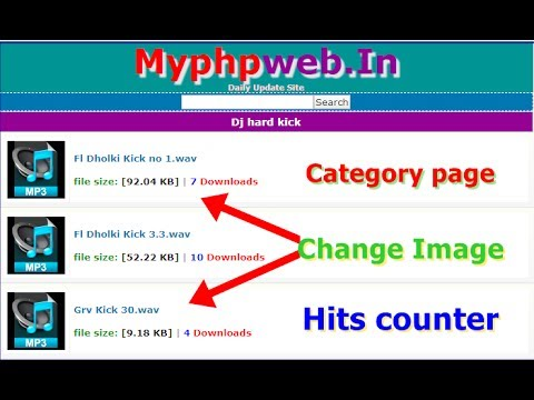 how to design category page of wapact website in hindi with wapact codes part 4