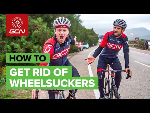How To Get Rid Of Wheelsuckers On A Bike Ride