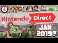 A NEW Nintendo Direct January 2019.. RUMORED! What Do YOU WANT Announced?