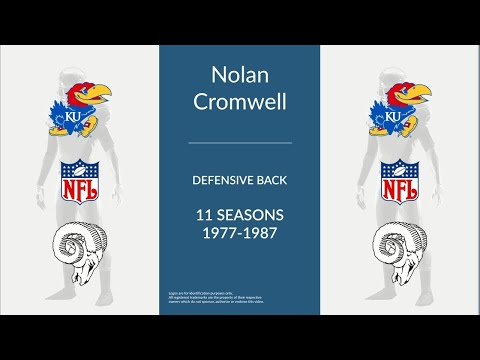 Nolan Cromwell: Football Defensive Back
