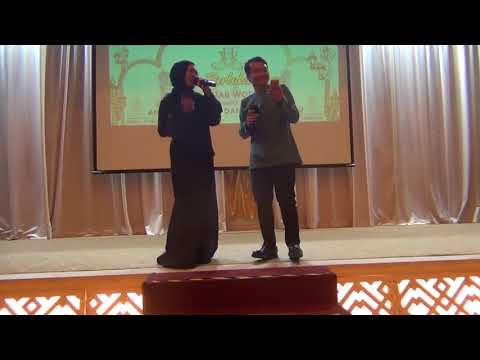 Fanzi Ruji & Santiana Ramli singing Percayalah (Afgan & Raisa)