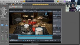 Toontrack Superior Drummer 3 Preview and Demo