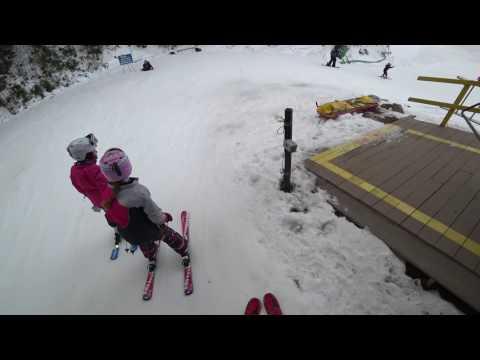 Skiing At Attitash - 12/27/16 - Part 1 of 2
