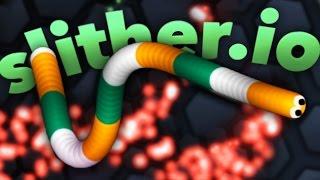 MY IRISH SNAKE! | Slither.io #3