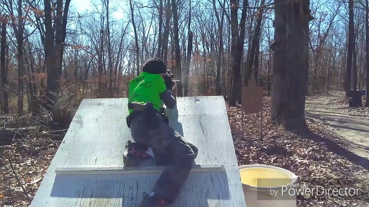 11 year old shooting 3 gun with sig P320 and Stoeger M3020