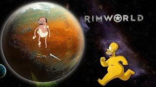 Неприкрытая жестокость. RimWorld v.1.0.2 Попытка №2 + Тапков (стрим) #7