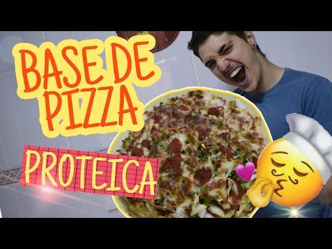 ¡base-de-pizza-proteica-menos-de-300-kcal!-super-rÁpido-de-hacer