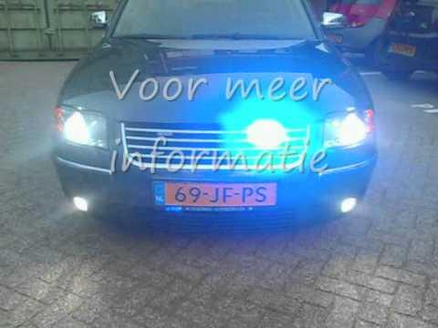 KW Lights Politie Stroboscopen (LED-3313) - YouTube