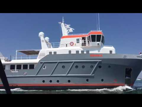 Summer sea trial for Ocean King Explorer Yacht 130